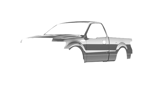 Цвета кузова F-150 Regular Cab